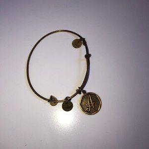 Alex & Ani 'A' Initial Bracelet